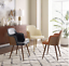 thumbnail 2 - 1 PC Mid Century Modern Leather Upholstered Accent Chair Home Office LivingRoom