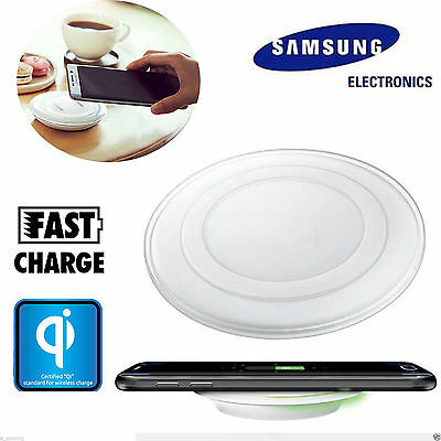 100pc For SAMSUNG GALAXY S6/S7/S7 EDGE QI WIRELESS CHARGER FAST CHARGING PAD LOT