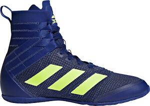 adidas Speedex 18 Boxing Shoes Blue Unisex Mens Junior Womens ...