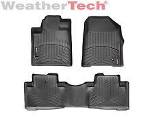 WeatherTech Floor Mats FloorLiner for Honda Pilot - 2009-2015 - Black
