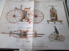Motorrad Archiv Edition Faksimile 1008E Daimlers Reitwagen Plan