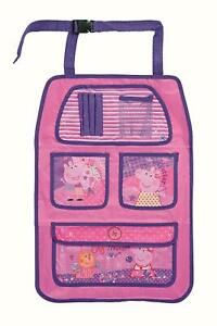 Peppa Pig Car Seat Organiser