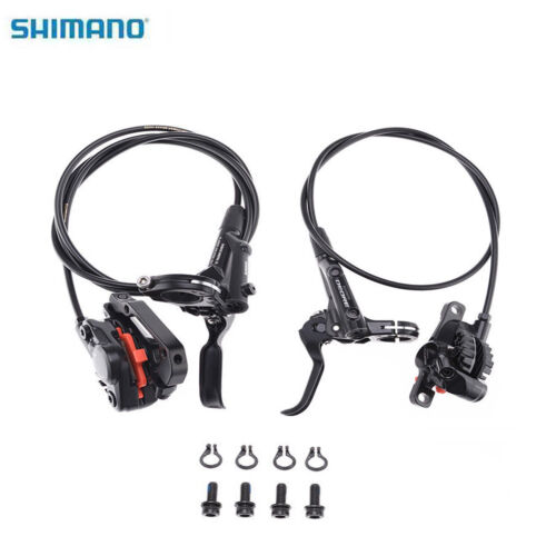 Shimano Deore M6000 MTB Mountain Disc Brakes Hydraulic Front & Rear Set Black