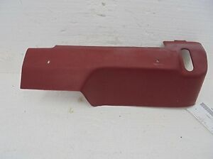 Ford-Ranger-Extended-Cab-Left-Rear-Jump-Seat-Bracket-Cover-Red-89-90-91-92
