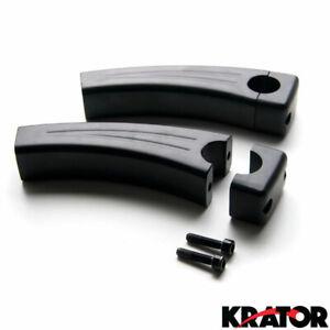 Krator 5.5 Black Motorcycle Handlebar Pullback Risers For Harley Davidson XL Sportster 1200 Custom