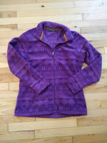 Woolrich Andes Printed Fleece jacket Size Medium … - image 1