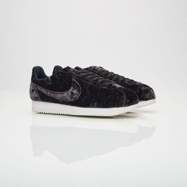 Womens Nike Cortez Classic LX AA3255-001 Black/Black Brand New Size 10