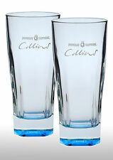 Bombay Sapphire Collins Gin Glasses X 2 New