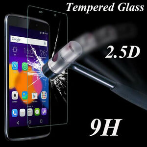 100-Genuine-Tempered-Glass-Screen-Protector-Protection-Film-For-Alcatel-Model