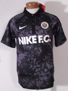 Details about NWT Nike Mens FC Football Club Sem Risco Nao Ha Victoria Jersey S Black MSRP$80