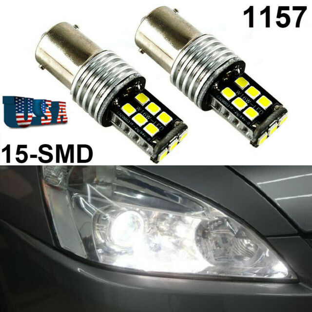 White Front Signal Light T25 3057 3157 4157 33 SMD LED Bulb A1 For Dodge Ford A