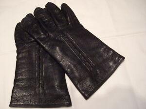Echte-Finger-Lederhandschuhe-Gr-43-Neuw