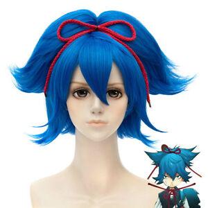 e5c06c0dc The Sword Dance Touken Ranbu Sayo Samonji Blue Cosplay Wig ANIME ...