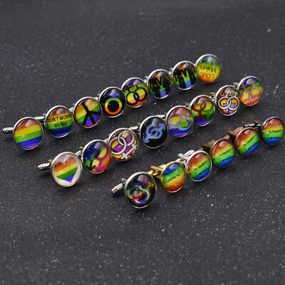 GRAPHICS /& MORE Peace Rainbow LGBTQ Symbol Antiqued Bracelet Pendant Zipper Pull Charm with Lobster Clasp
