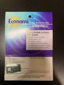 SoundTraxx-Econami-ECO-21PNEM-1-amp-Diesel-Digital-Sound-Decoder-882006-NEW