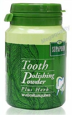 Supaporn Tooth Powder Polishing Toothpaste Plus Thai Herb 90 g.