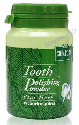 Supaporn Tooth Powder Polishing Toothpaste Plus Thai Herb 90 g.
