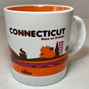 Dunkin' Donuts Limited Edition Connecticut Destinations 14 oz. Coffee Tea Mug