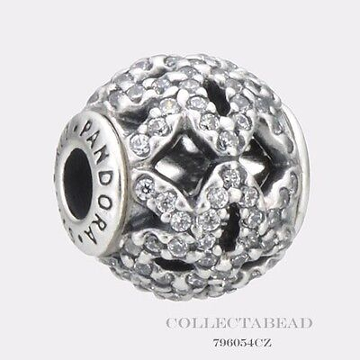 Authentic Pandora Essence Collection Silver Appreciation CZ Bead 796054CZ