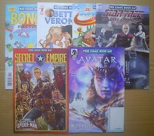 6 Free Comic Book Day 2017 ~ Secret Empire Avatar Star Trek Bongo Betty Veronica