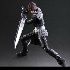 Anime Final Fantasy VIII Play Arts Kai Dissidia Squall Leonhart PVC Figure+ Box