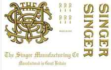 Singer Model 31 Class Sewing Machine Restoration Decals 2 Color 40930