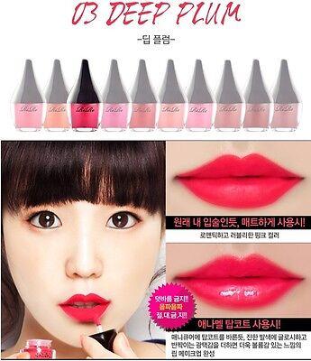 Rire Lip Manicure Waterproof Tint Full Size Gel Korean Strong color Makeup Matte
