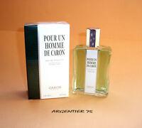 Pour Un Homme De Caron Eau De Toilette 125ml Spray Neuf