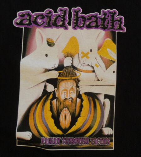 ACID BATH Official Paegan Terrorism Tactics T-Shirt
