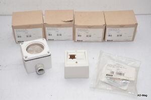x5-Boitier-raccordement-RJ45-IP54-1-port-87x87-R-amp-M-R307038-amp-R825773-NEUF