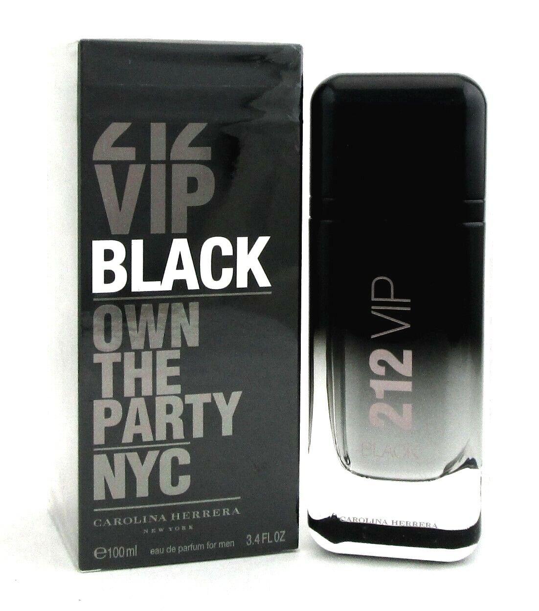 4oz De Parfum 100ml Black For 3 Spray Carolina Herrera 212 Vip Eau Men ymN8nv0wOP