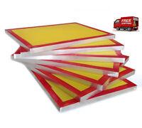 Screen Printing Frame Aluminium 32T/43T/55T/77T/90T/120 Mesh silk screen frame