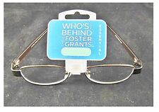 +1.50 Strength Foster Grant Women's Oval Reading Glasses Copper Buy 3 get 1 Free