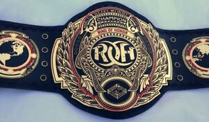 ROH Ring of Honor World Heavyweight Title Champion Belt Replica 2mm Adult.