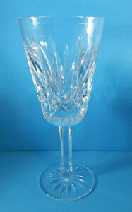 """WATERFORD SHERRY GLASS (S) LISMORE PATTERN GLASS 5 1/8"""" TALL"""