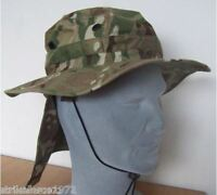 NEW - MTP Multicam Army Issue Bush Hat with removable neck cover- Size 56 cm