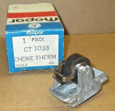 New 1972 Pontiac Firebird LeMans 400 455 4 bbl carb choke thermostat 487112 GTO