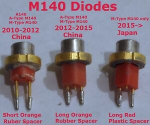 2W-445nm-M-Type-Japan-M140-Blue-Laser-Diode-Brand-New