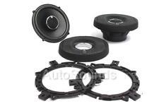 "Infinity Kappa 62.11i 450 Watt 6.5"" Coaxial 2-Way Car Audio Speakers 6-1/2"" New"