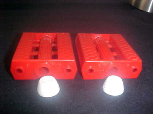 "Pedal Car Vintage Red 3//8/"" Tricycle Pedals Elgin Colson Murray Huffy Amf nos"
