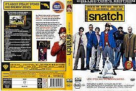 Snatch (DVD, 2001, 2-Disc Set) Brad Pitt, Jason Statham, Vinnie Jones