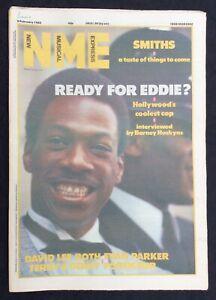 NME 9 February 1985 Eddie Murphy Smiths David Lee Roth Foreigner Evan Parker
