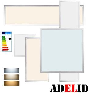 led panel lampe deckenleuchte leuchte pendelleuchte wandleuchte ultraslim. Black Bedroom Furniture Sets. Home Design Ideas