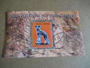 Afrique-Du-Sud-2010-FIFA-World-Cup-Afrique-Du-Sud-Souvenir-Feuille
