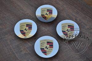 4 x Originale Porsche Panamera 970 971 Cayenne 957 958 Coprimozzo Alluminio