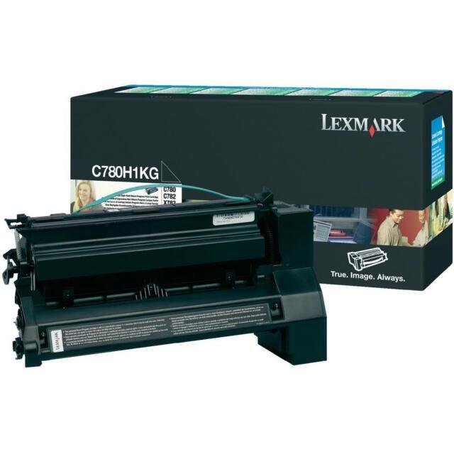 Original Lexmark Toner C780H1KG C780H4KG Black New D