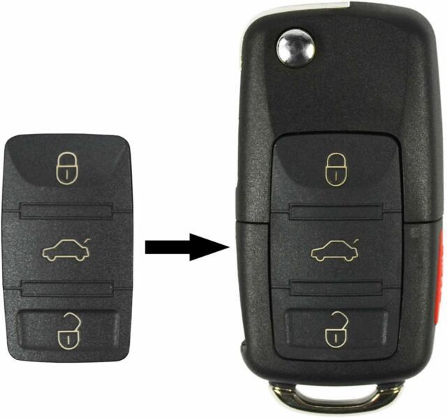 NEW KEY BLADE OEM VW VOLKSWAGEN flip keyless entry remote fob transmitter