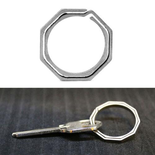 Titanium Alloy Karabiner Hanging Buckle Key Ring Quickdraw Keychain-Tool beste