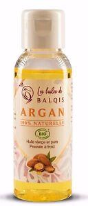 Huile-d-039-Argan-Bio-Speciale-Cheveux-Peau-Visage-100-NATURELLE-50ml-ARGAN-OIL