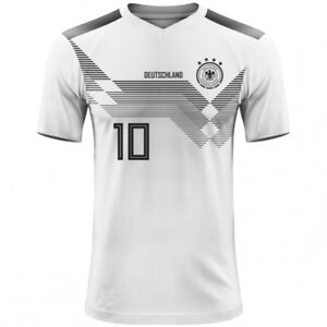 new product a1a2b f4778 Details about FIFA WORLD CUP 2018 Germany Deutschland Football Fan Jersey  MULLER OZIL KROOS